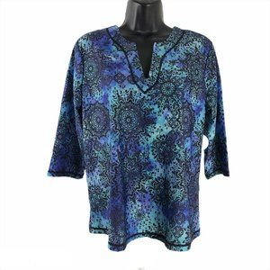 Swimsuits For All Swim Tee Top Cover Up Multicolor